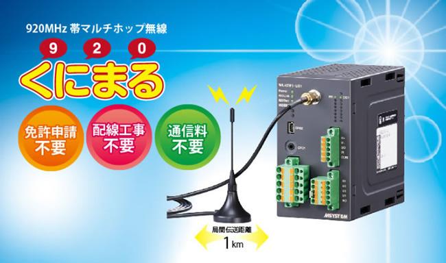 920MHz帯マルチホップ無線920(くにまる)